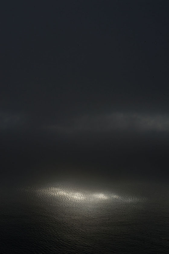 NATURAL ENLIGHTMENT, Big Sur, California, USA, Ditone Print, 225 x 150 cm