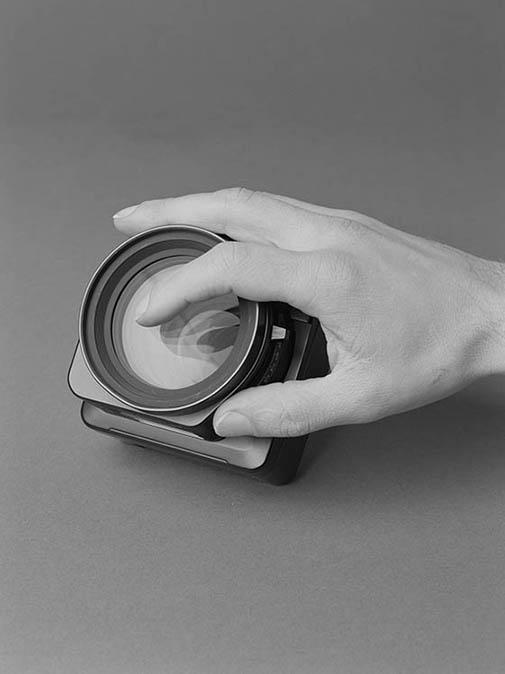Finger on Lens (2012) 60x50 cm