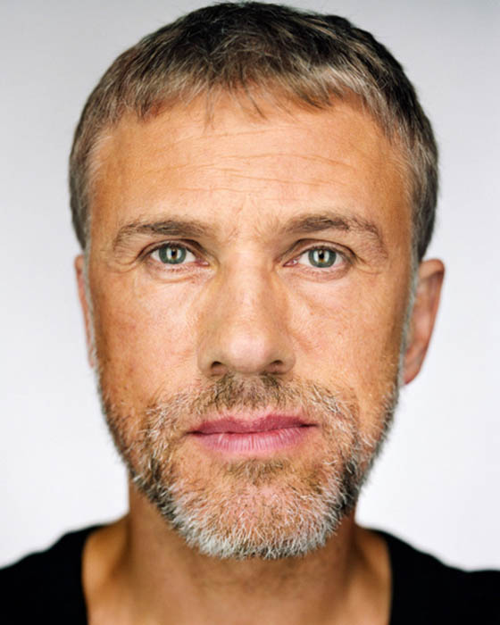 © Martin Schoeller, Christoph Waltz, 2009, Courtesy Camera Work